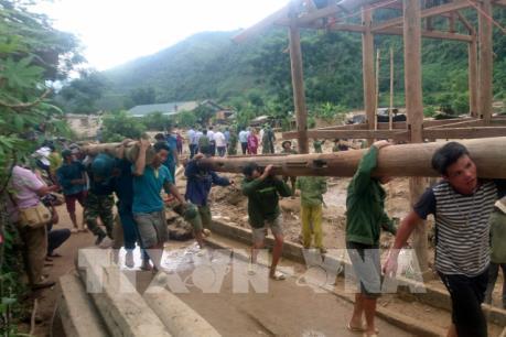 Lai Châu: Sớm thông tuyến giao thông cho vùng lũ Mường Tè