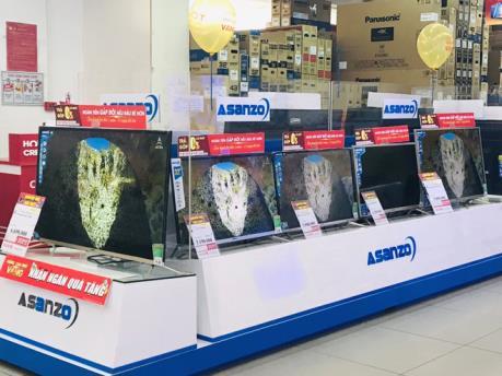 Nhiều siêu thị điện máy dừng bán sản phẩm Asanzo
