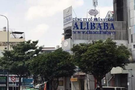 Lực lượng chức năng đang tiến hành điều tra Công ty CP Địa ốc Alibaba