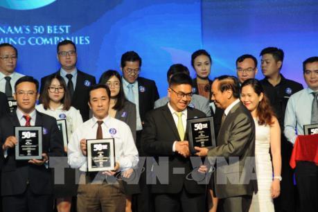 Vinh danh 50 doanh nghiệp kinh doanh hiệu quả nhất Việt Nam