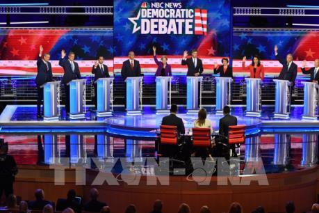 Bầu cử Mỹ 2020: Các ứng viên đảng Dân chủ tranh luận trên truyền hình