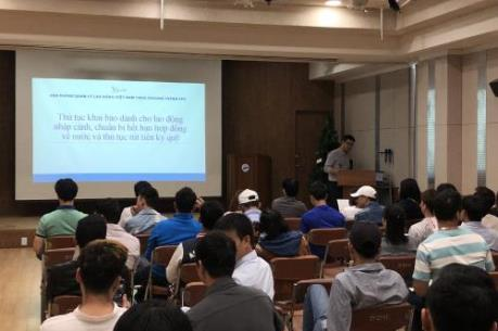 Xuất khẩu lao động sang Hàn Quốc - Bài 1: Thích ứng, hoà nhập nhanh