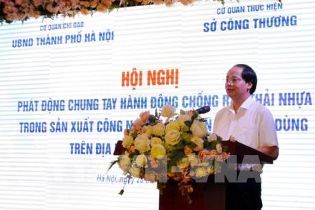 Đến năm 2020, Hà Nội sẽ không dùng túi ni-lon trong hoạt động thường ngày