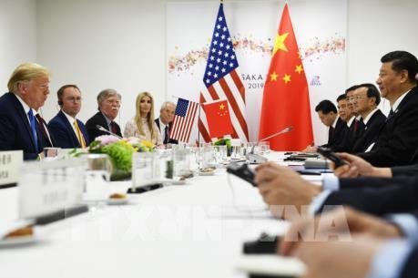 Hai nhà lãnh đạo Mỹ - Trung bắt đầu hội đàm