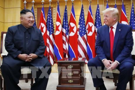 Cuộc gặp Mỹ-Triều tại DMZ: Triều Tiên đề cập khả năng Tổng thống Mỹ thăm Bình Nhưỡng