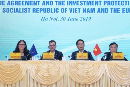 Việt Nam và EU sẽ sớm hoàn tất quy trình phê chuẩn hai Hiệp định EVFTA và EVIPA