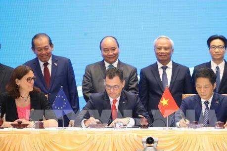 Truyền thông Australia đưa tin Việt Nam và EU ký EVFTA
