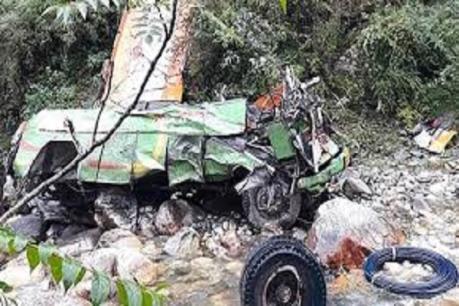 Tai nạn xe buýt thảm khốc ở Ấn Độ làm hơn 30 người thiệt mạng