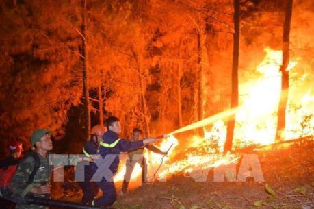Vì sao chưa dùng trực thăng chữa cháy rừng tại Hà Tĩnh?