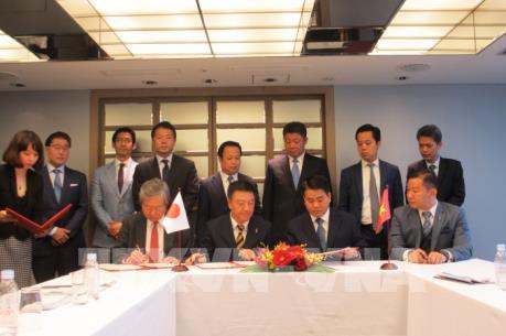 Các tập đoàn Nhật Bản cam kết đầu tư vào Hà Nội 4 tỷ USD
