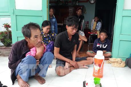 Thông tin mới nhất vụ chìm tàu cá trên vùng biển Hòn Cau, Bình Thuận