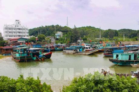 Ứng phó bão số 2: Quảng Ninh đưa 4 ngàn khách du lịch vào bờ tránh bão