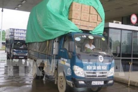 Kim ngạch xuất nhập khẩu qua Lào Cai giảm