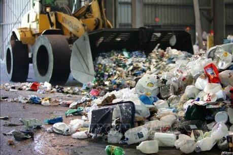 Australia đầu tư gần 130 triệu USD phát triển ngành công nghiệp tái chế rác thải