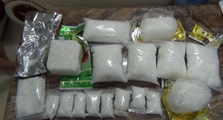 Bắt đối tượng nước ngoài vận chuyển 7kg ma túy đá từ Campuchia về Việt Nam