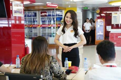 Vietjet Air tuyển dụng lớn tiếp viên tại Hà Nội
