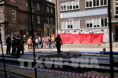 Nổ khí ga tại Ba Lan gây nhiều thương vong