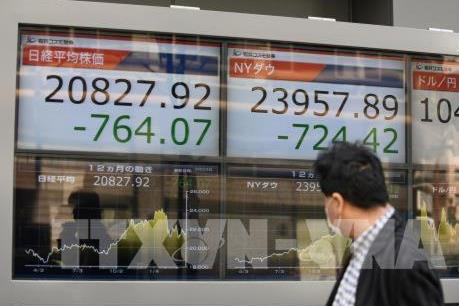 Chỉ số Nikkei 225 của Nhật Bản giảm hơn 2% trong phiên giao dịch mở cửa tuần mới