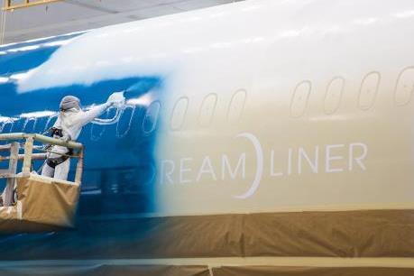 Hé lộ những hình ảnh đầu tiên về chiếc Boeing 787-10 của Vietnam Airlines