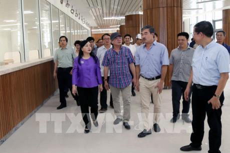 Bệnh viện Việt Đức, Bạch Mai cơ sở 2 còn nhiều hạng mục chưa hoàn thành