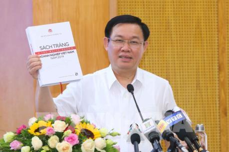 """Công bố """"Sách trắng doanh nghiệp Việt Nam 2019"""""""