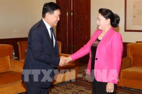 Chủ tịch Quốc hội: Việt Nam thu hút đầu tư có chọn lọc vào một số lĩnh vực trọng điểm
