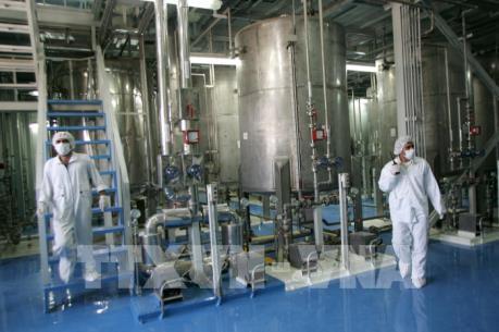 Iran làm giàu urani lên mức 4,5%