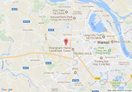 Bản đồ quy hoạch giao thông phường Mỹ Đình 1, quận Nam Từ Liêm, Hà Nội