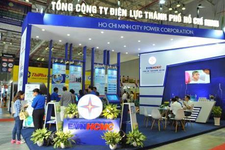 Gần 400 đơn vị tham gia triển lãm quốc tế về thiết bị điện và năng lượng xanh