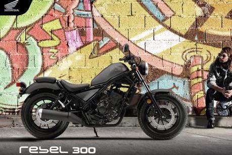 Honda Việt Nam ra mắt phiên bản mới Rebel 300 với giá 125 triệu đồng