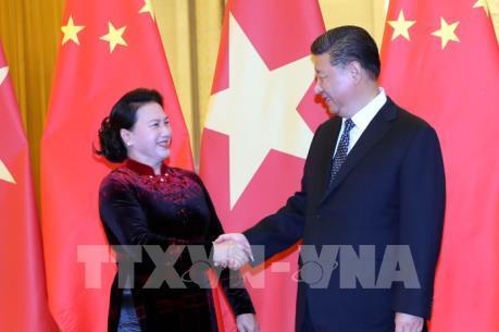 Thúc đẩy quan hệ đối tác hợp tác chiến lược toàn diện Việt Nam –Trung Quốc