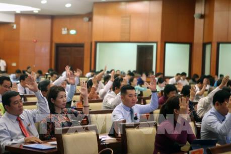 HĐND Thành phố Hồ Chí Minh thông qua 22 Nghị quyết