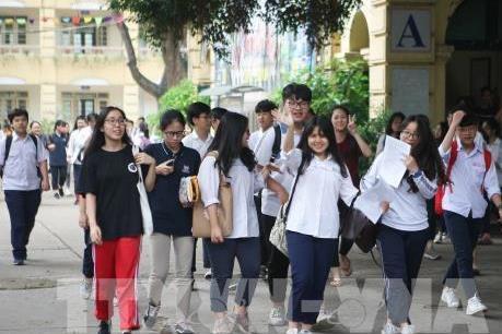 Công bố phổ điểm các môn thi và tổ hợp một số môn xét tuyển đại học, cao đẳng 2019