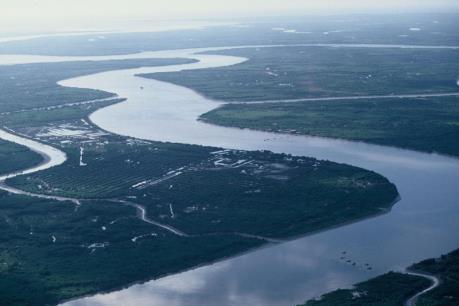 Mực nước sông Mekong xuống thấp nhất trong 10 năm qua
