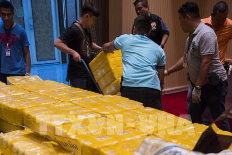 Thái Lan thu giữ hơn 1 tấn ma túy đá