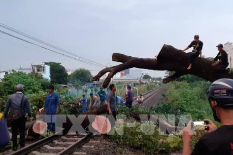 Đường sắt Bắc – Nam thông tuyến sau nhiều giờ tê liệt