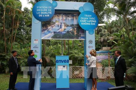 Hà Nội khai trương Trạm quan trắc chất lượng không khí
