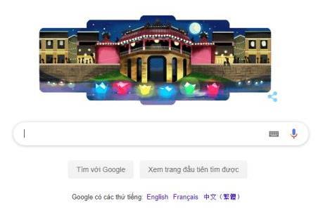 Hội An lần đầu được vinh danh trên Google Doodles