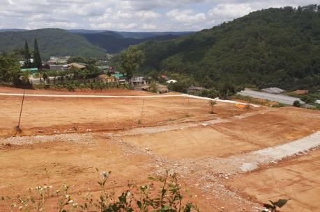 Lâm Đồng xử lý các công trình san ủi, phân lô đất nền, rao bán trái phép