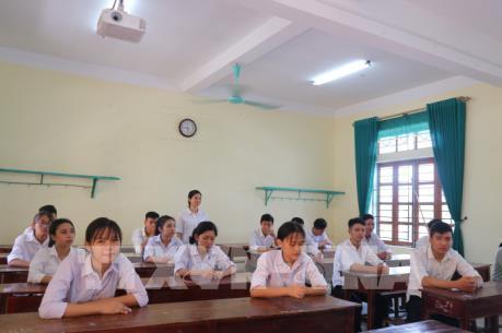Ngôi trường làng 100% học sinh có điểm xét tuyển đại học từ 21 trở lên