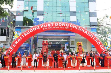Sacombank khai trương chi nhánh Lào Cai