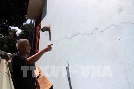 Công trình thủy điện ở Lai Châu - Bài 2: Nổ mìn thi công thủy điện làm nứt nhiều nhà dân