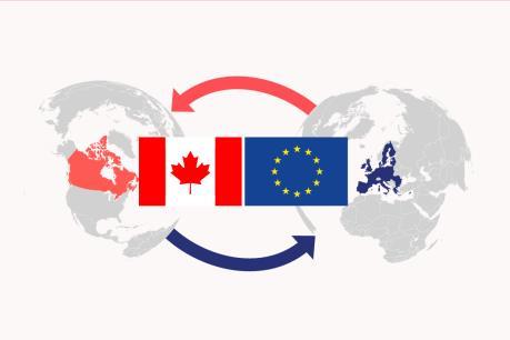 """Tăng cường hợp tác kinh tế  - """"tâm điểm"""" của Hội nghị thượng đỉnh EU-Canada"""