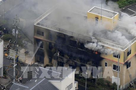 Vụ cháy xưởng phim ở Nhật Bản: Số thương vong tiếp tục tăng