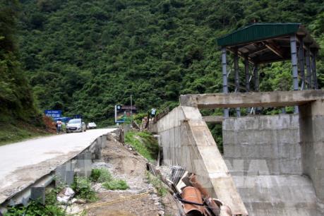 Công trình thủy điện ở Lai Châu: Bài 3 Thủy điện Chu Va 2 chưa được giao đất vẫn thi công