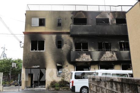 Vụ cháy xưởng phim ở Nhật Bản: Vì sao các nạn nhân không thể mở cửa sân thượng?