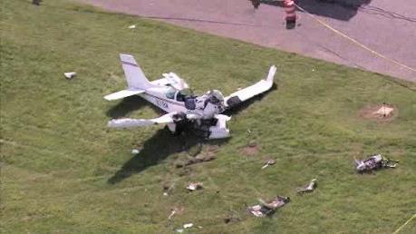 Rơi máy bay cỡ nhỏ, ít nhất 3 người thiệt mạng