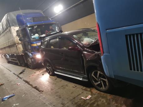 Tai nạn liên hoàn trên đường tránh Nam Hải Vân, 1 người tử vong
