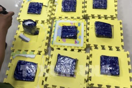Phát hiện vụ vận chuyển trái phép 8 kg ma túy từ Campuchia về Việt Nam
