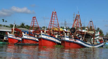 Kiên Giang ngăn chặn tàu cá vi phạm khai thác thủy sản vùng biển nước ngoài